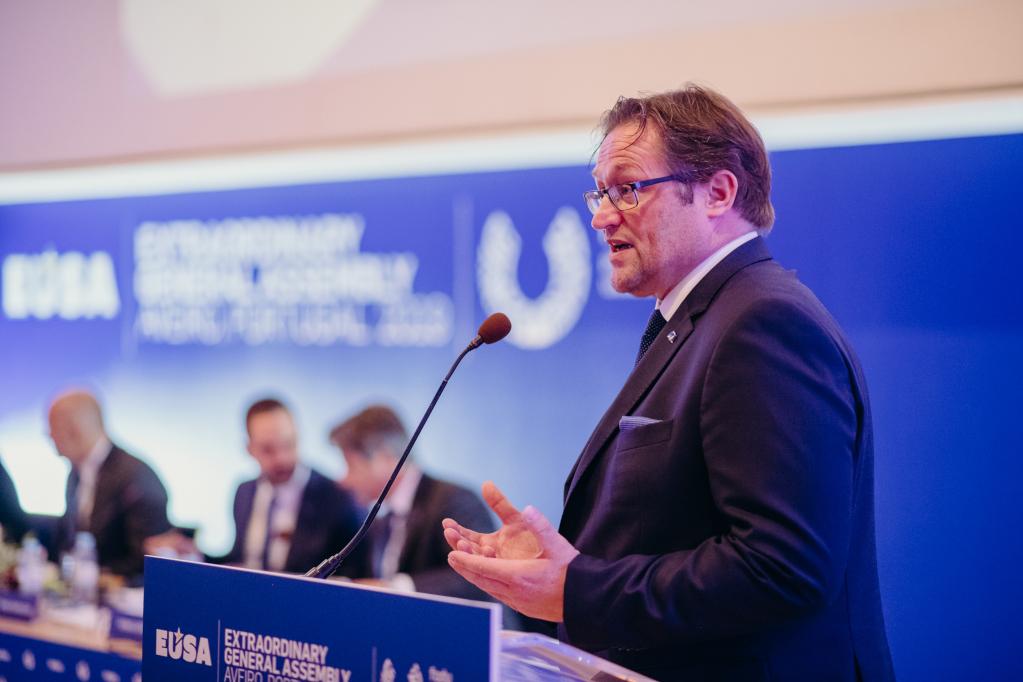 Joerg Foerster was elected EC member