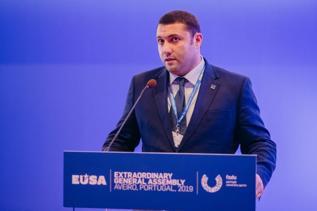ARMSSF President Mr Hovhannes Gabrielyan
